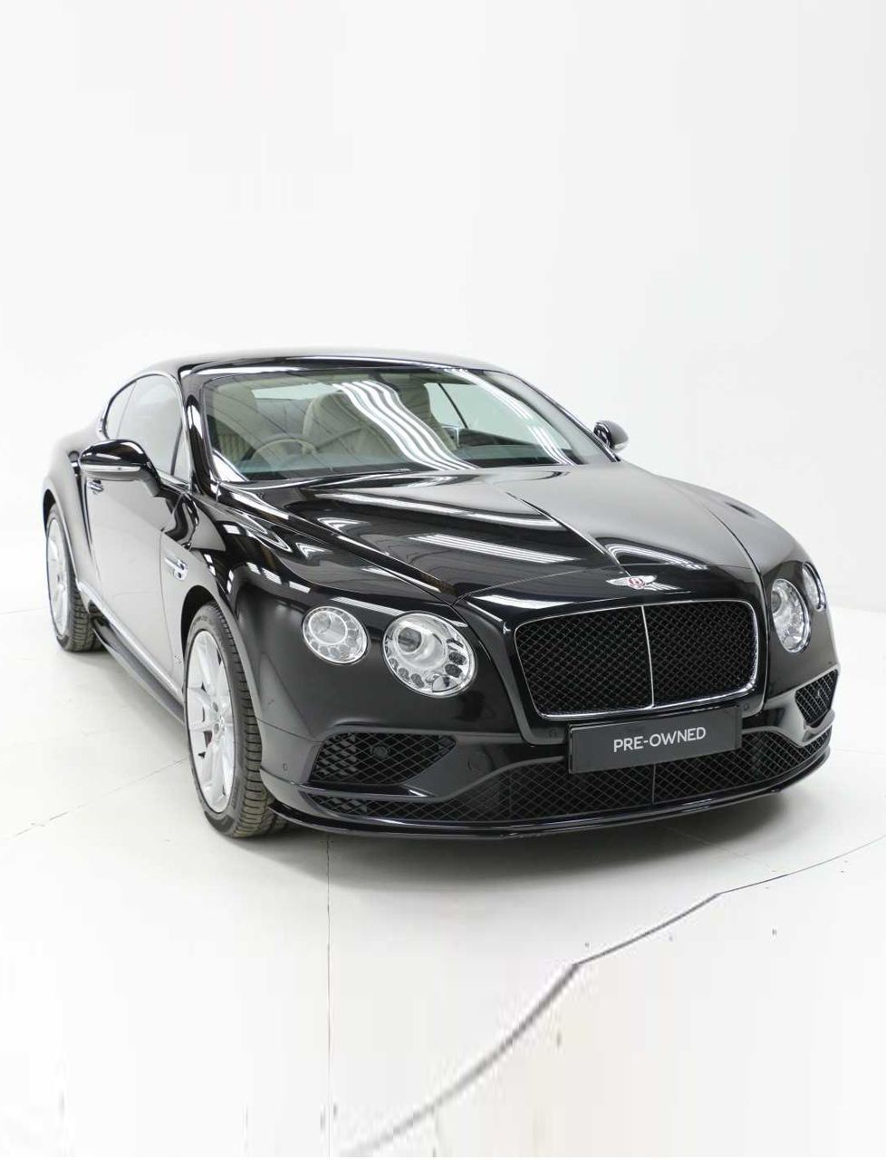 BENTLEY CONTINENTAL GT V8 4.0V8S BLACK 2016 – Allinex Supercar